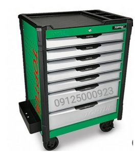 TOPTULنمایندگی - جعبه ابزار کشویی چرخدار تاپ تول- 09125000923