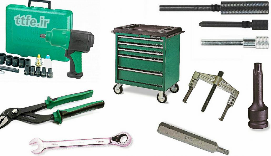 ابزارآلات دستی - ابزار تعمیرگاهی جانزوی - ابزار صنعتی